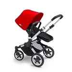 Bugaboo Buffalo - Red & Silver